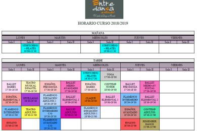 horario 2018-19
