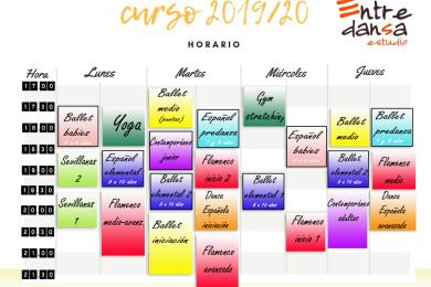 horario 2019-20