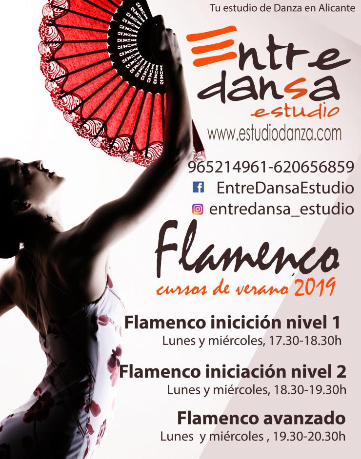 spanish flamenco dancer with fan